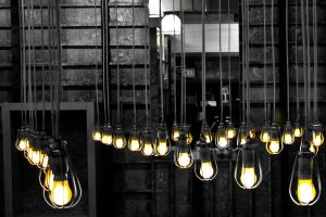 Suspended Bulbs