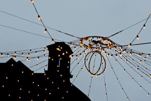 Building and Hanging Lights